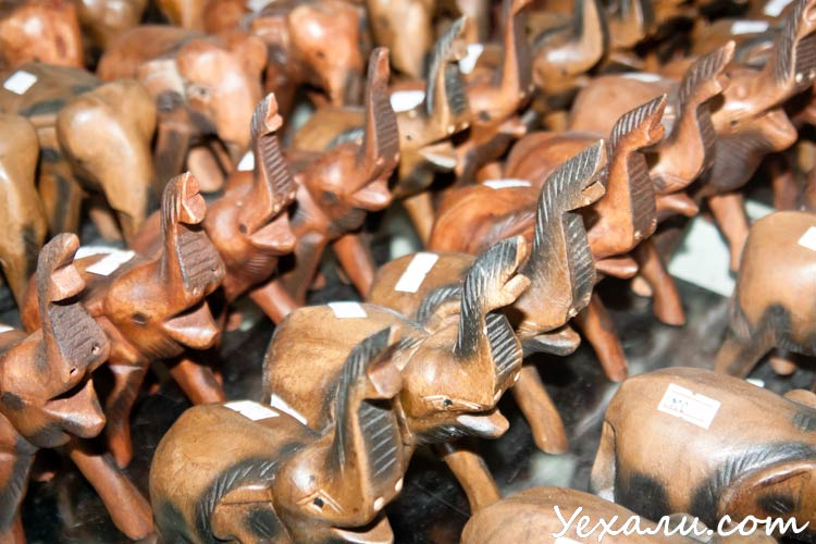Лукдод - магазин сувениров в Паттайе.