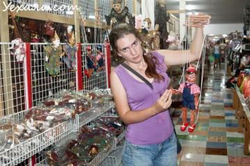 Цены на сувениры в Паттайе: магазин Лукдод.