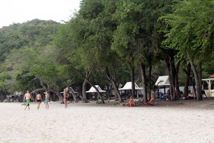 Военный пляж (Голубая лагуна) в Паттайе.