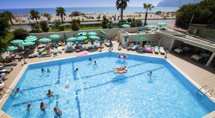 Отдых в Алании: Blue Sky Hotel.