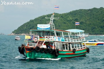 Как добраться до острова Ко Лан из Паттайи: паром