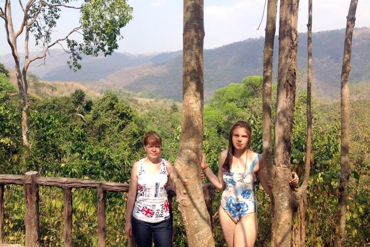 Фруктовый рай на реке Квай: национальный парк Эраван