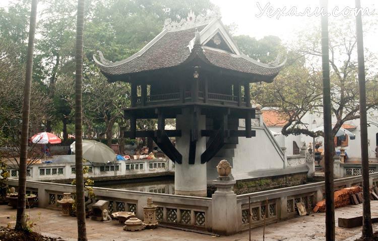Достопримечательности Ханоя: Пагода на одном столбе