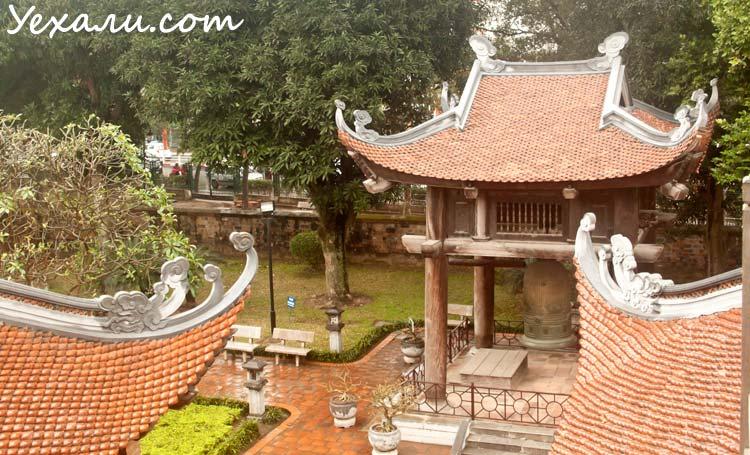 Достопримечательности Ханоя: Храм Литературы