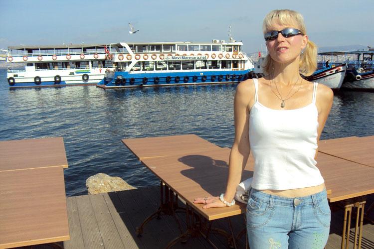 Принцевы острова, Стамбул: Бююкада, паром Mavi Marmara