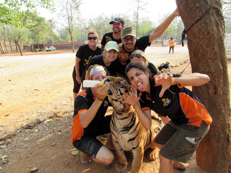 Тигровый монастырь в Таиланде