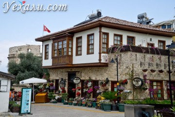 Интересные факты о Турции и турках: Анталья, Старый город