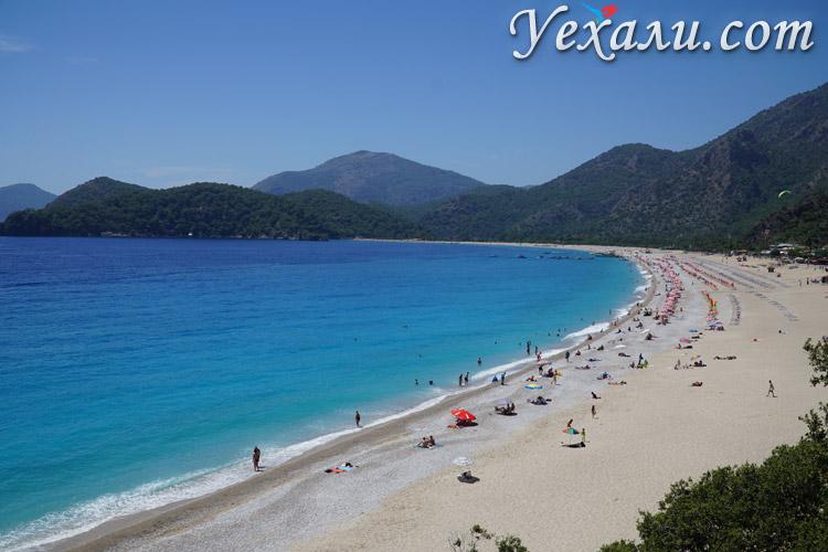 Пляж Олюдениза