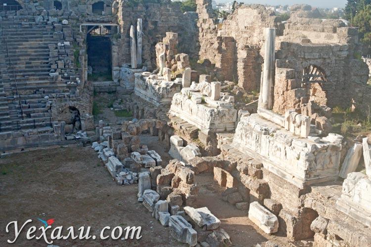 Амфитеатр Сиде, Турция