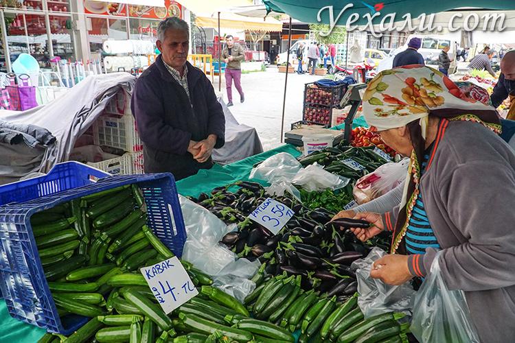 Цены в Турции на продукты: рынки Махмутлара.