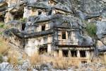 Древний город Демре Мира и ликийские гробницы в Турции: уникальные фото без единого туриста!