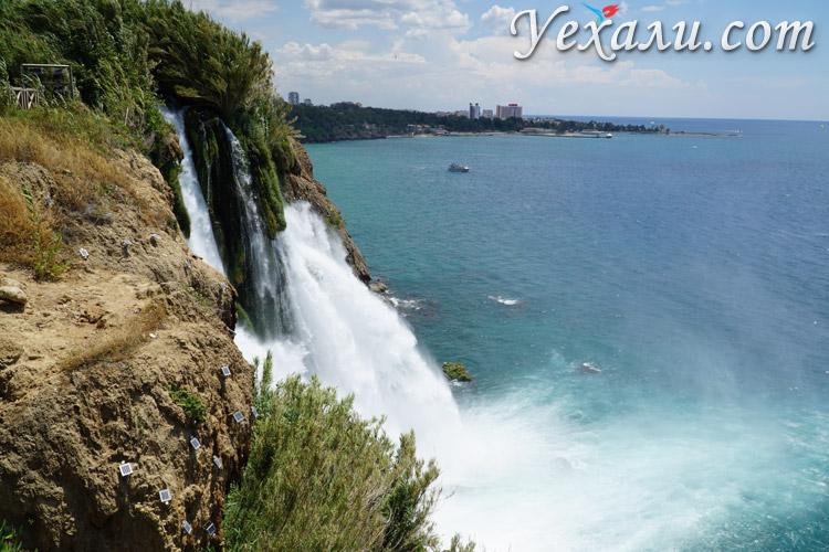 Водопады Антальи фото