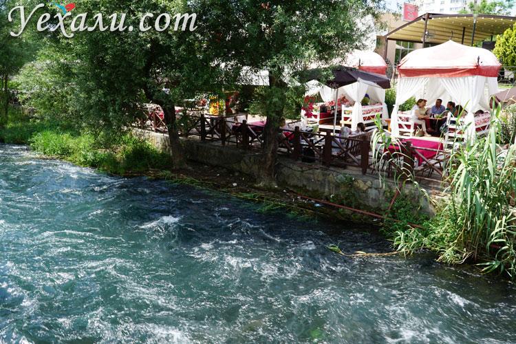 Река Дюден в Турции