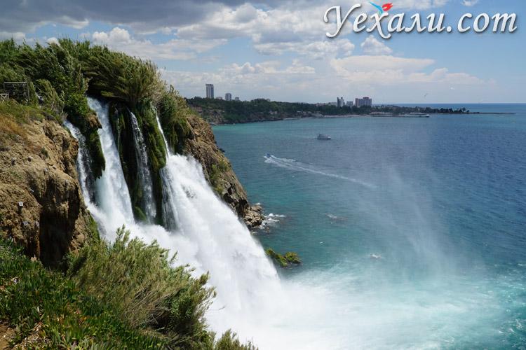Нижний Дюден водопад фото