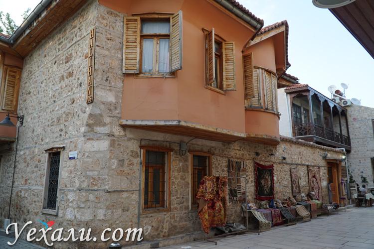 Дома в старой Анталии