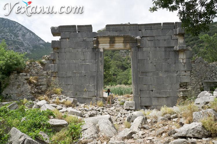 Олимпос, Турция, фото храма