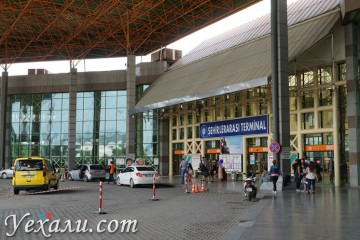 Как добраться из Анталии в разные города Турции: автовокзал Антальи.