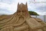 Фестиваль песчаных скульптур Sandland в Анталии: почему он открыт даже в дождь?