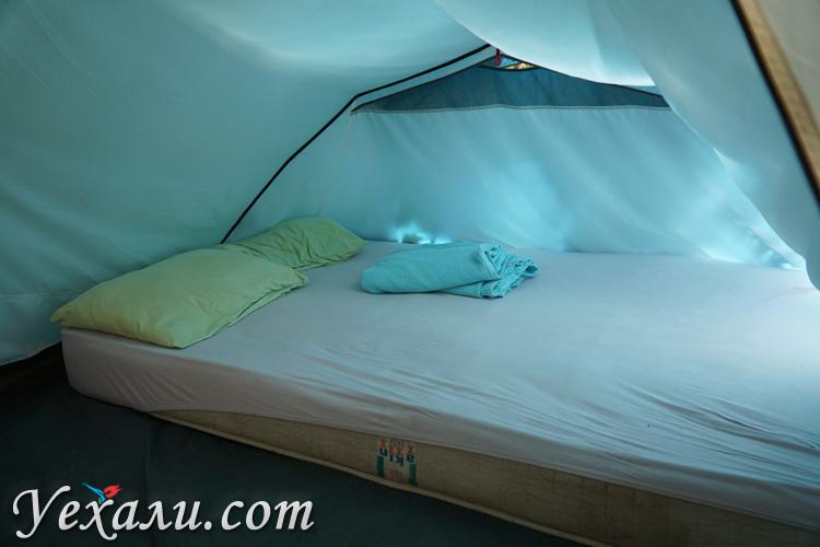 Палатка в Турции