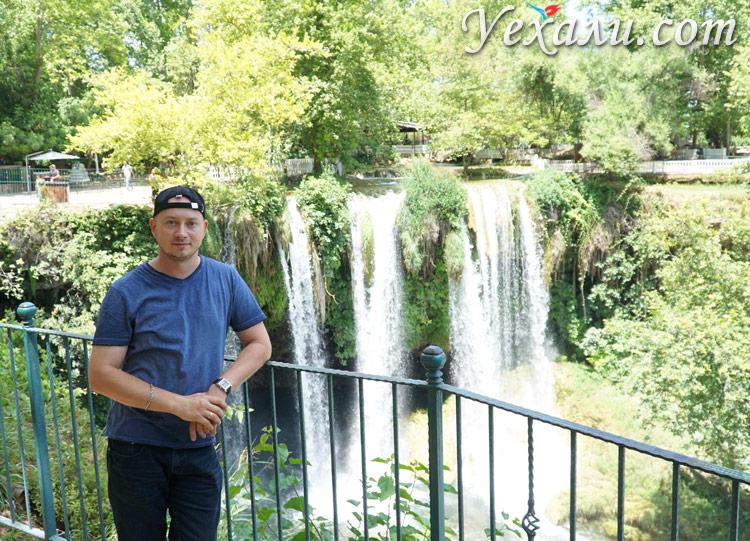 Верхний Дюден в Анталии фото
