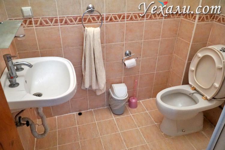 Ванная в Salhan Aparts