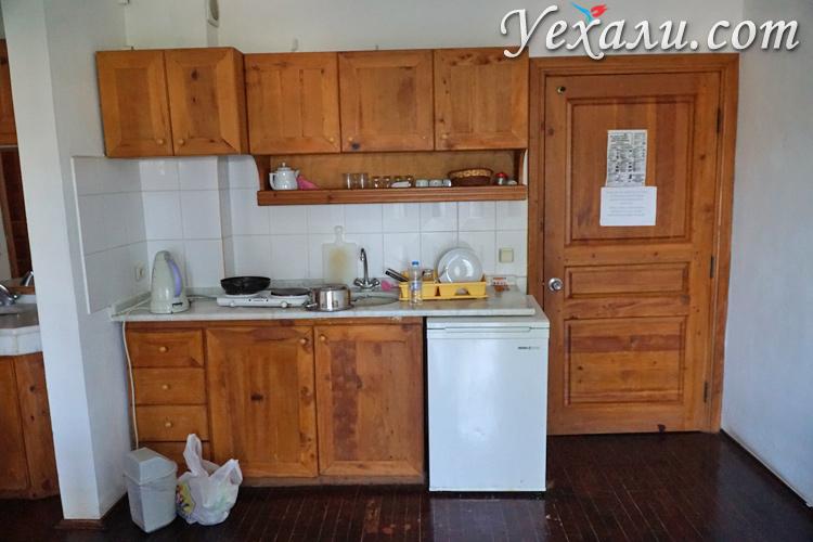 Кухня в апарт-отеле
