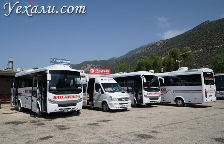 Автобусная станция в Турции