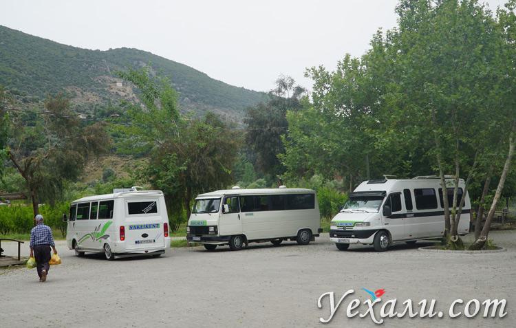 Автобус в Саклыкент