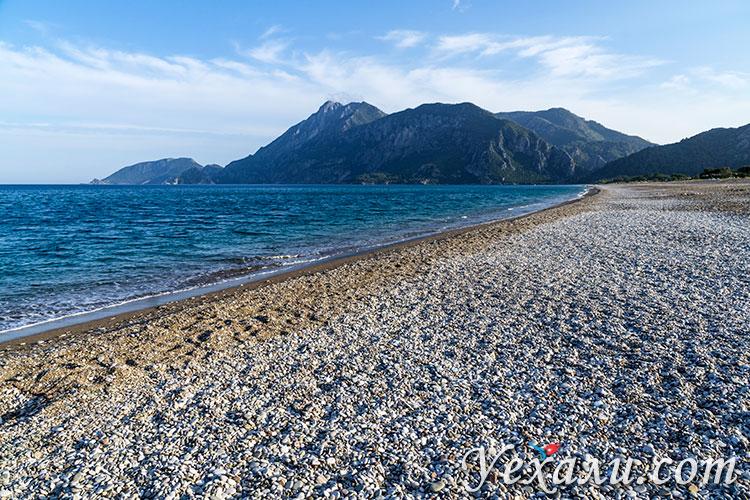 Лучшие пляжи Турции на Средиземном море: Чиралы