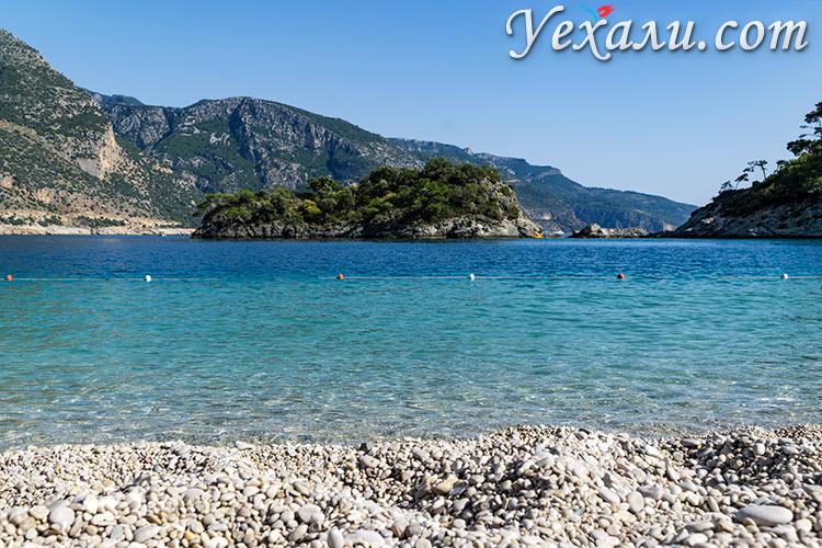 Лучшие пляжи Турции: Голубая Лагуна, Олюдениз.