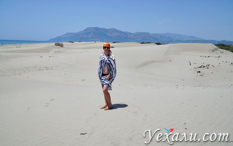 Турецкий пляж Патара