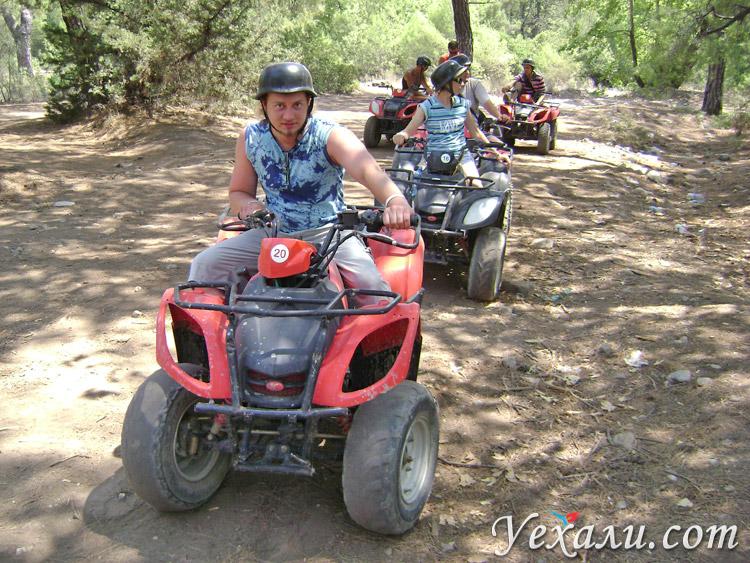 Экскурсия на квадроциклах в Турции