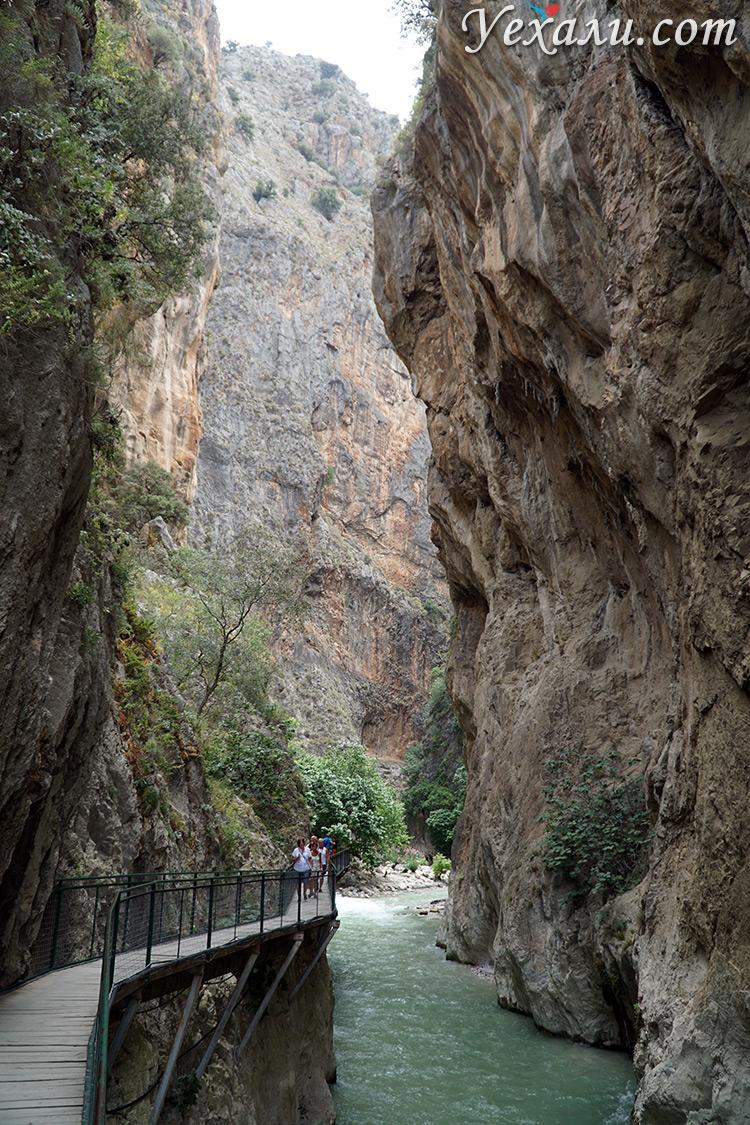 Каньон Саклыкент в Турции, фото
