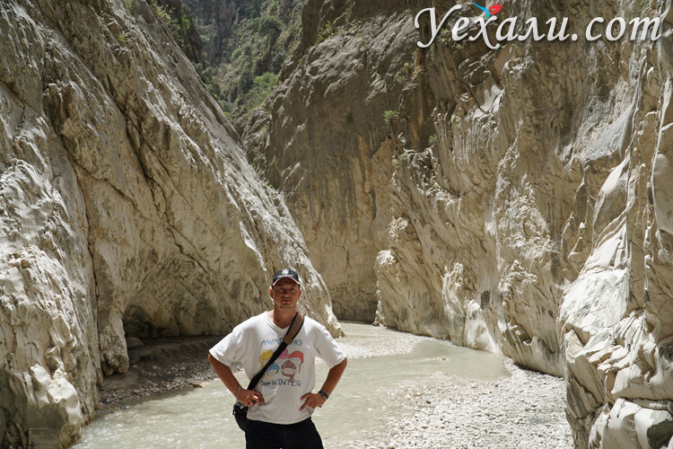 Экскурсия в ущелье Саклыкент