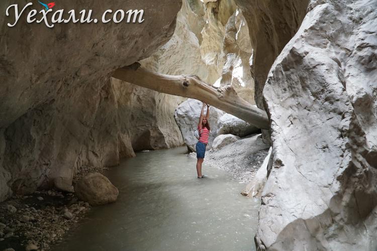 Ущелье Саклыкент, Турция