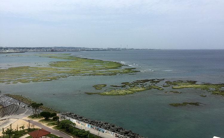 Пляжи Окинавы. Отлив.
