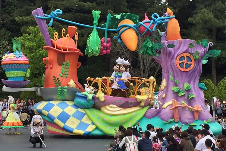 Достопримечательности Токио: Диснейленд.