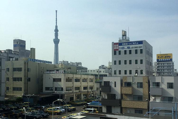 Достопримечательности Токио: телебашня Tokyo SkyTree.
