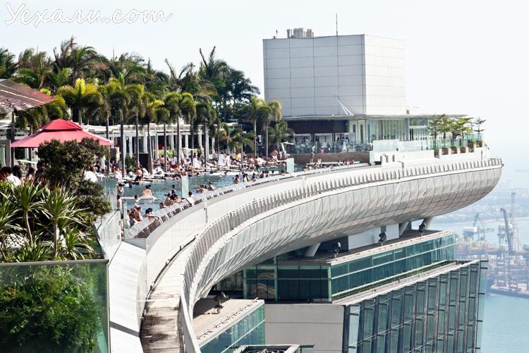 Сингапур, отель Marina Bay Sands.