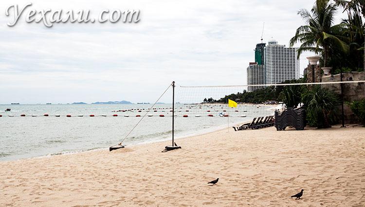 Пляж Вонгамат в Паттайе.