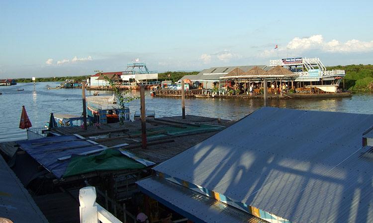 Озеро Тонлесап, Камбоджа.