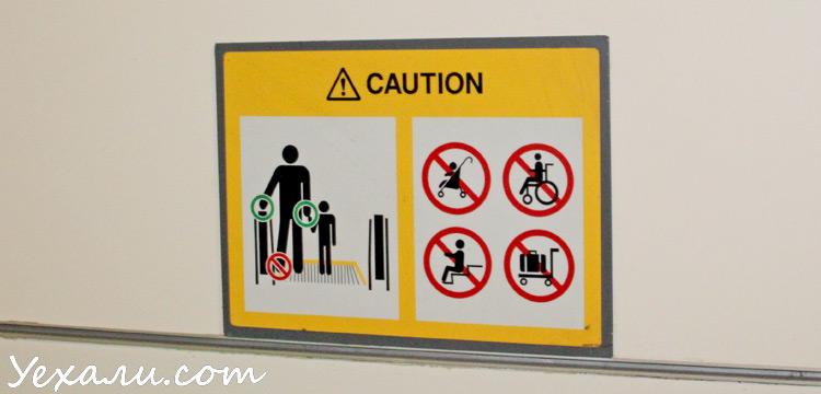 Штрафы и запреты Сингапура, фото.