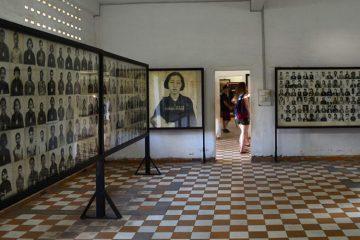 Музей геноцида «Туольсленг», Пномпень, Камбоджа.