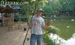 Озерная рыбалка в Паттайе: понравится даже девушкам!