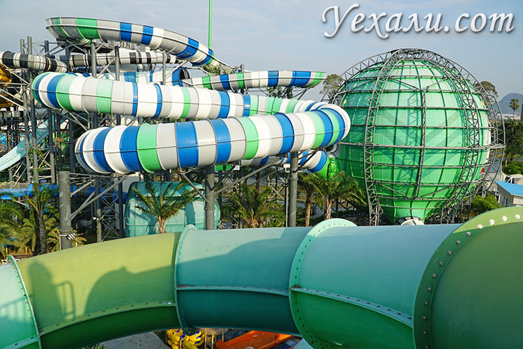 Cartoon Network Amazone Water Park, Паттайя.
