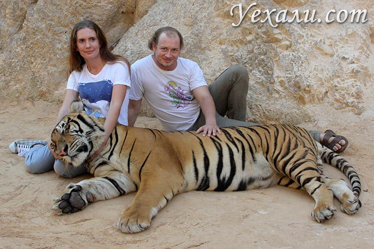 Тигровый храм в Канчанабури, Таиланд