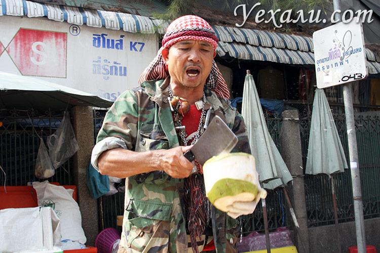Фото рынка Чатучак, Бангкок, Тайланд.