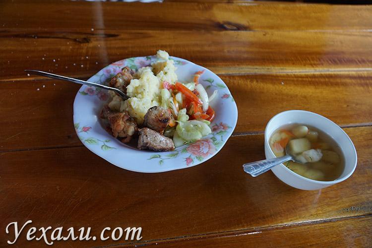 Экскурсия Паттайя Бей Круиз, обед на корабле