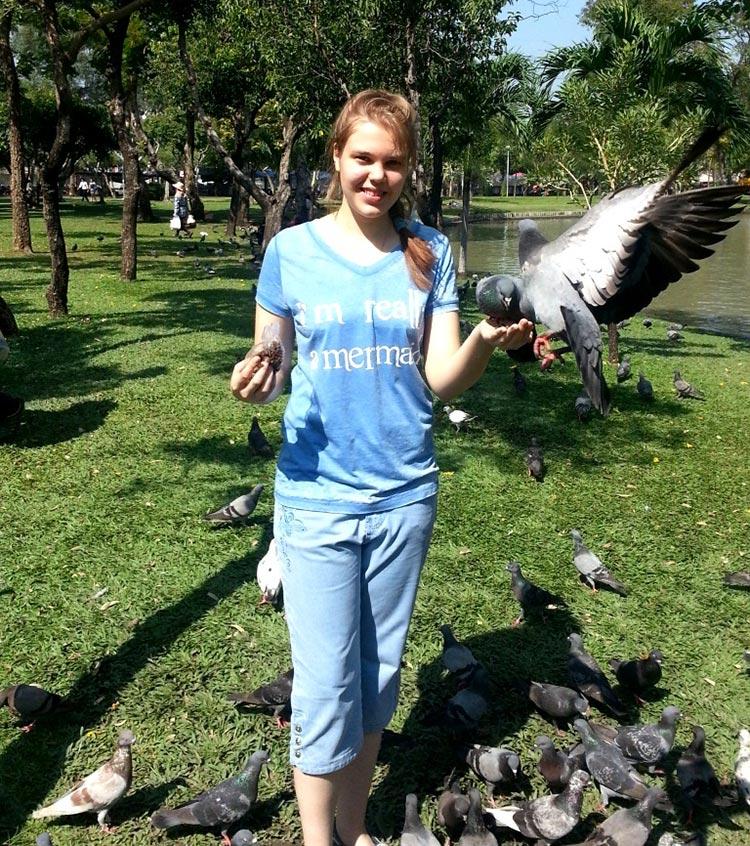 Фото парка Чатучак, Бангкок, Тайланд.