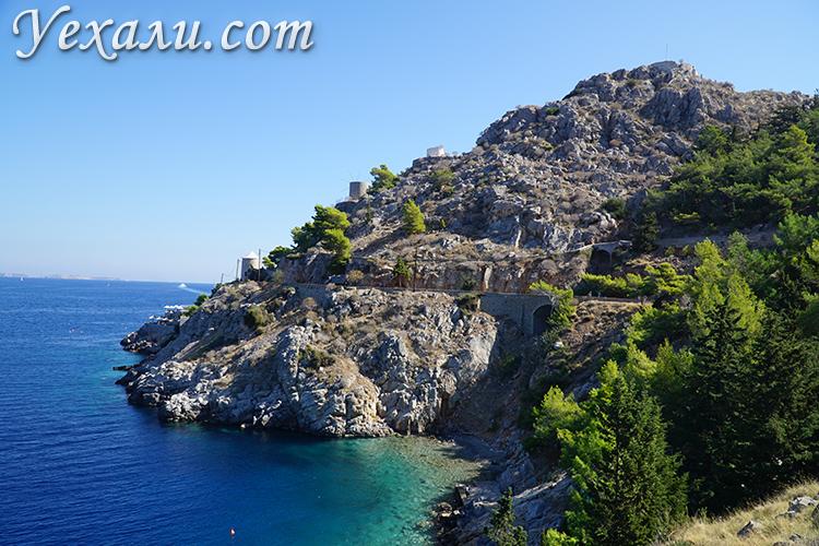 Пляжи острова Гидра в Греции